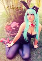 Bunny Bulma by Shermie-Cosplay