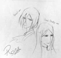 Rai and the Lord sketch by Rona67