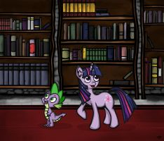 Books, books, and more books. by EsronGrobyc