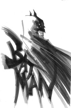 Batman Sketch 2 by rafaelalbuquerqueart