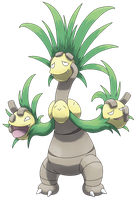 Mega Exeggutor by Smiley-Fakemon