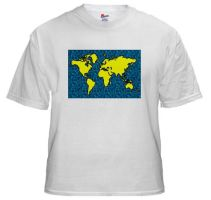 Map Of The World by BizarreTShirts