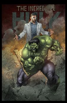 The Incredible Hulk by JUANCAQUE