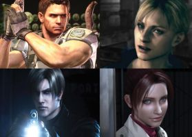 Resident evil 5 Degeneration by redfield37
