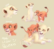 Frozen - Lion Queen by kei111