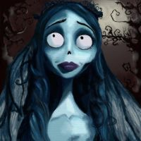 Corpse bride by Alexenj1987
