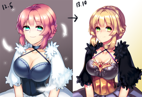 before after by kthelimit