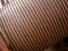 Spool of Wire Rope by agentraygun