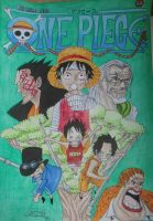 One Piece Vol. 60 Cover by OnePiecerin
