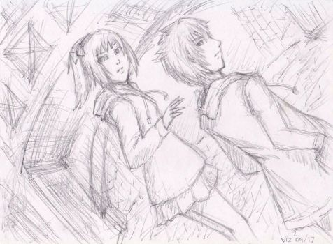Rough Sketch - Fugitives by ciel-kurogami