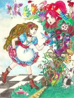 Alice In Wonderland by YukoFlourite