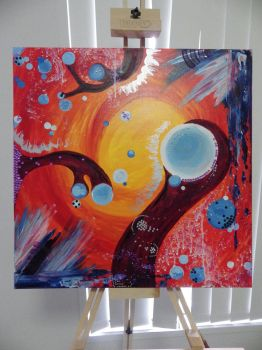 Intuitive Painting #2 by CloudtheHen