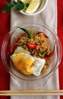 Dressed-up indomie by sasQuat-ch