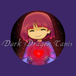 frisk button badge. last day to order by DarkDragonTanis