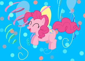 There ain't no party like a pinkiepie party, by Xx-SunsetSkies-xX