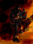 Shadow - Sonic Boom version by JadeFlyer