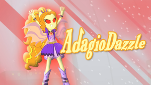 Adagio Dazzle Wallpaper by Jakeneutron