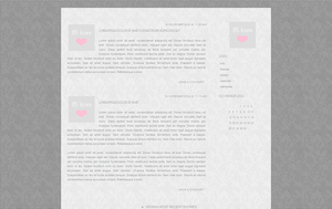 Simple Grey Livejournal Layout by evmorfia-dimitriou