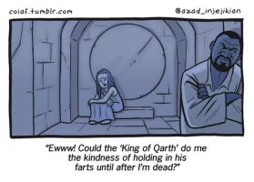 King of Farts by Azad-Injejikian