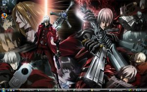 Devil May Cry Wallpaper by ShadowRangerBlue