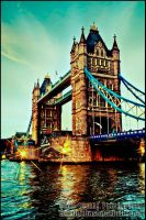Tower Bridge_London HDR by DevillePhotography