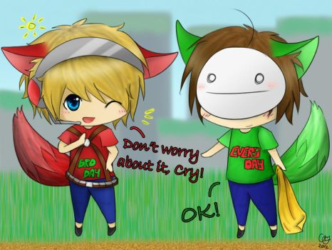 Pewdiecry in Bloody Trapland by belle2908