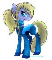 Samus pony by IamtehPILOT