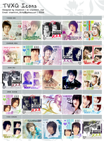 TVXQ Icons Part II by o00khanhlynk00o