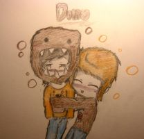 DOMO hug? by huey4ever