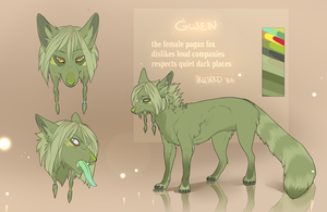 GWEN REFERENCE SHEET 2013 by arucarrd