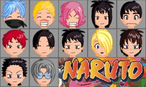 naruto in anime face maker by santiw93