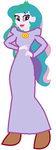 Principal Celestia as Mother Necessity by MonstrousPegasister