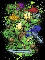 WeLoveFineContest TMNT by artistjerrybennett