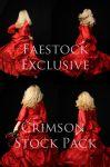 Crimson Exclusive Stock Pack by faestock