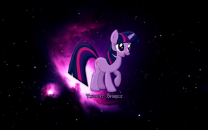 Twilight Sparkle Wallpaper by JoeHellser
