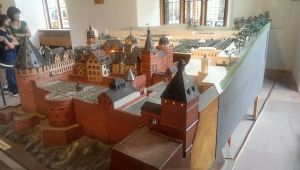 Model of a town by Poniusprime
