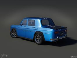 Renault 8 Gordini 1300-2 by cipriany
