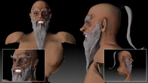 zbrush sensei gone mad tryout by ygy