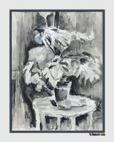 20150306-1970-Ink-and-Wash-Plant-v5 by quasihedron