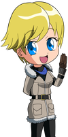 RE6 -Sherry Birkin =CHIBI= by Krizeii