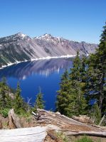 Crater Lake by Michaela-Johnson