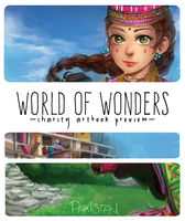 World Of Wonders Artbook Preview by Poichanchan