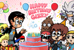 Happy Birthday Gizzy by WaniRamirez