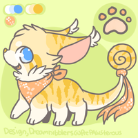 :Custom DreamNibbler for GingerBlazee: by PrePAWSterous