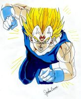 Vegeta: Majin by dragonballdeviants