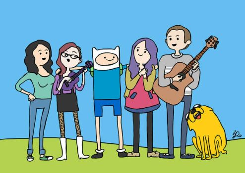 Adventure Time by leanne-reynolds