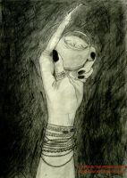 """""""My Gothic Hand with Claw"""" by TheSpyderDuster"""