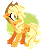 applejack charm design by spacekitsch