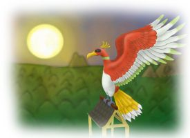 Realistic Pokemon 10 Ho-oh by IanMelbourne93