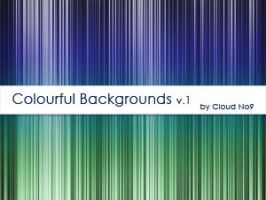 Colourful Backrounds ver.1 by cloud-no9